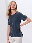 Fadenmeister Berlin - Le T-shirt-chemisier en pure soie