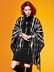 Looxent - Le poncho 100% laine vierge
