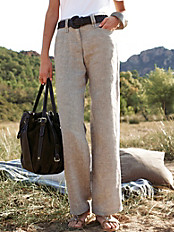Brax Feel Good - Le pantalon en pur lin