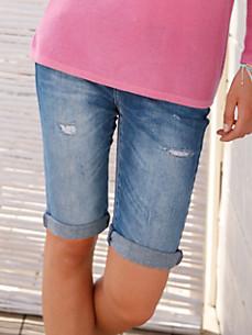 FLUFFY EARS - Le short en jean