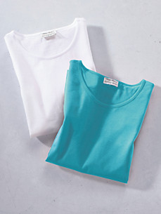 Green Cotton - Le lot de 2 T-shirts