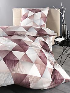 Linge de lit en jersey achat en ligne sur peter hahn - Parure de lit aubergine ...