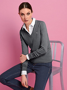 Lacoste - Le pull en pur coton