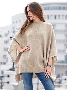 Peter Hahn - Le poncho 100% laine vierge