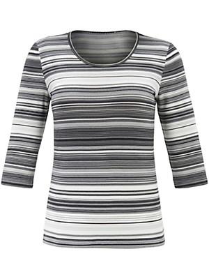 Anna Aura - Le T-shirt encolure dégagée et manches 3/4