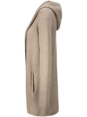 FLUFFY EARS - La veste en pur cachemire