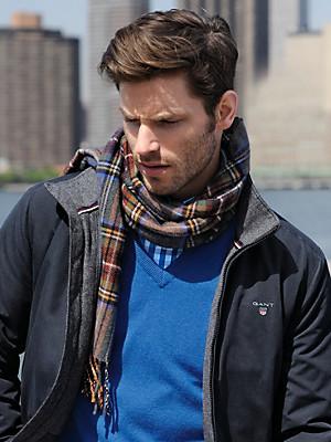 GANT - L'écharpe en pure laine