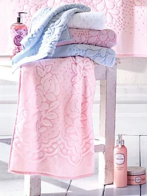 Herka - Le lot de 2 serviettes invité, env. 30x50cm