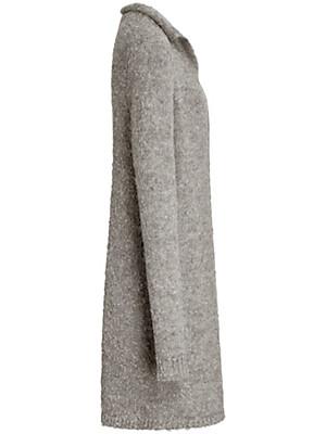 Inkadoro - Le manteau en fil d'alpaga bouclé