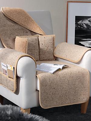 Irelamb - Le protège-fauteuil en pure laine vierge, 50x150cm
