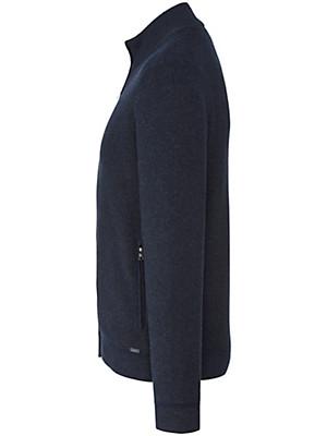 Olymp - Le gilet en maille en laine et coton