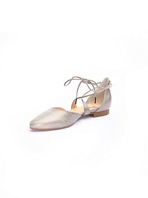 Paul Green - Ballerines en doux cuir velours de chevreau