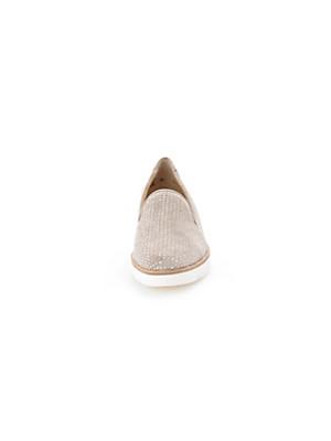 Paul Green - Les mocassins en fin cuir velours de veau