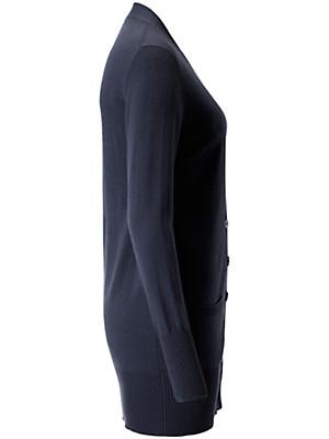 Peter Hahn Cashmere - Le gilet en maille modèle JENNIFER pur cachemire