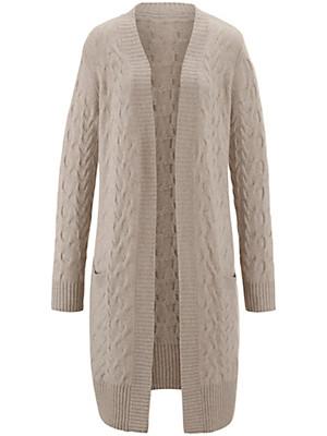 Peter Hahn Cashmere - Le manteau en maille 100% cachemire
