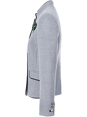 Peter Hahn - La veste en laine foulée