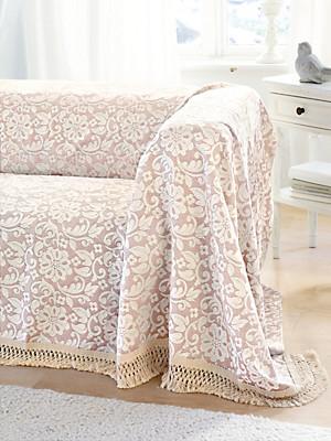 Peter Hahn - Le jeté pour canapé et lit, env. 220x250cm