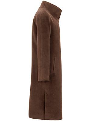 Peter Hahn - Le manteau en laine vierge et alpaga