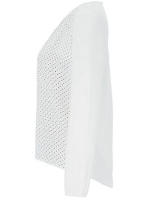 Samoon - Le T-shirt chemisier en mix de matières