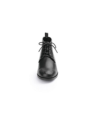 Softwaves - Les bottines à lacets en cuir nappa
