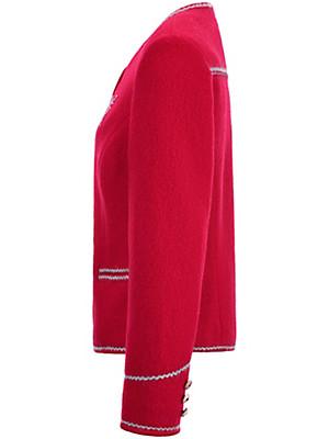 Steinbock - La veste en laine foulée