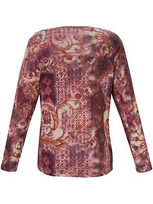 Via Appia Due - T-shirt au motif ethnique en vogue
