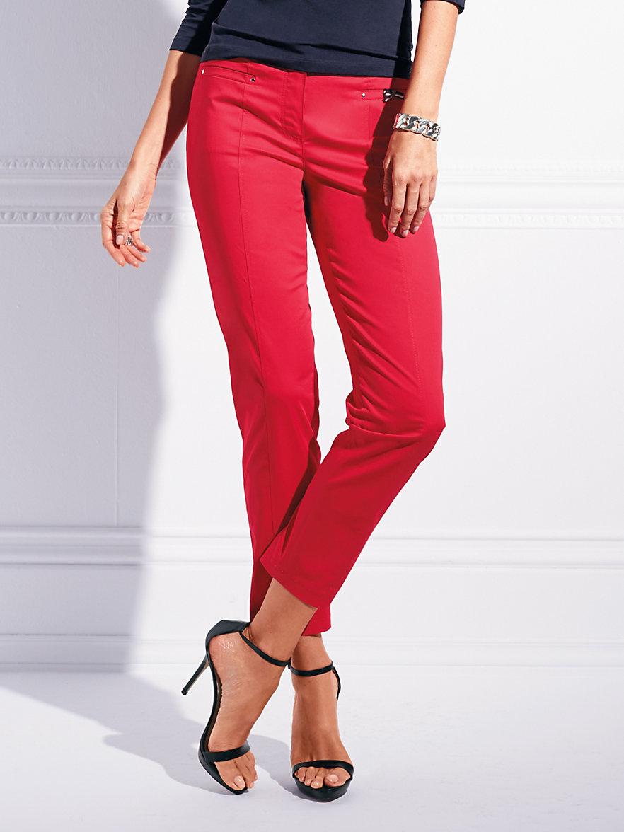 basler le pantalon 7 8 rouge. Black Bedroom Furniture Sets. Home Design Ideas