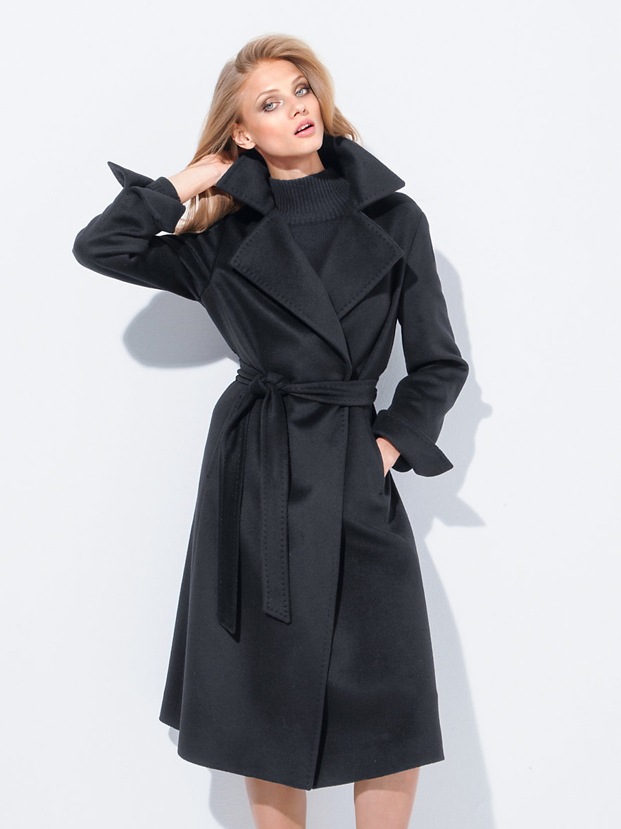 fadenmeister berlin le manteau en pur cachemire noir. Black Bedroom Furniture Sets. Home Design Ideas