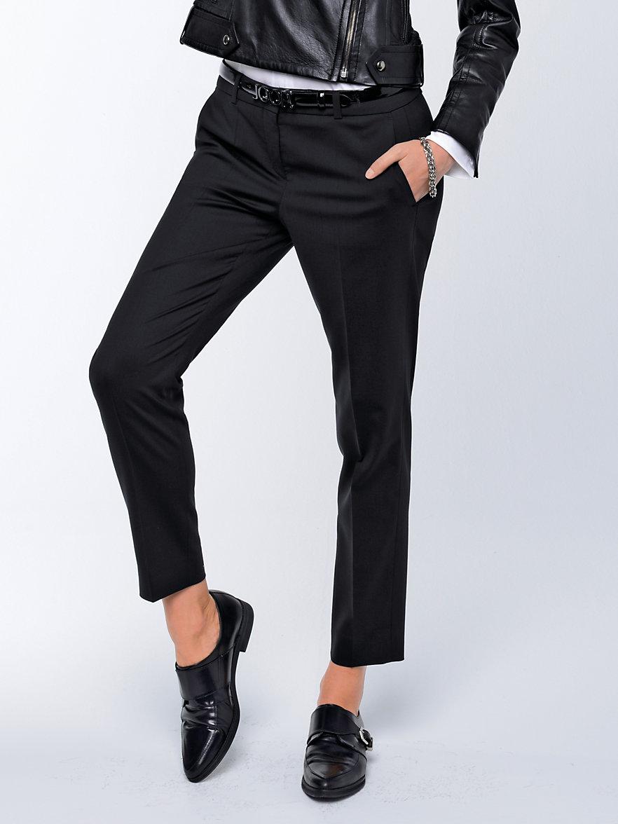 joop le pantalon 7 8 noir. Black Bedroom Furniture Sets. Home Design Ideas