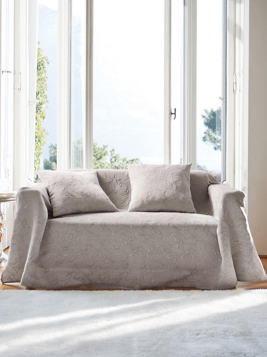 peter hahn le jet de canap 160x250cm mastic. Black Bedroom Furniture Sets. Home Design Ideas