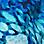 bleu/turquoise/blanc