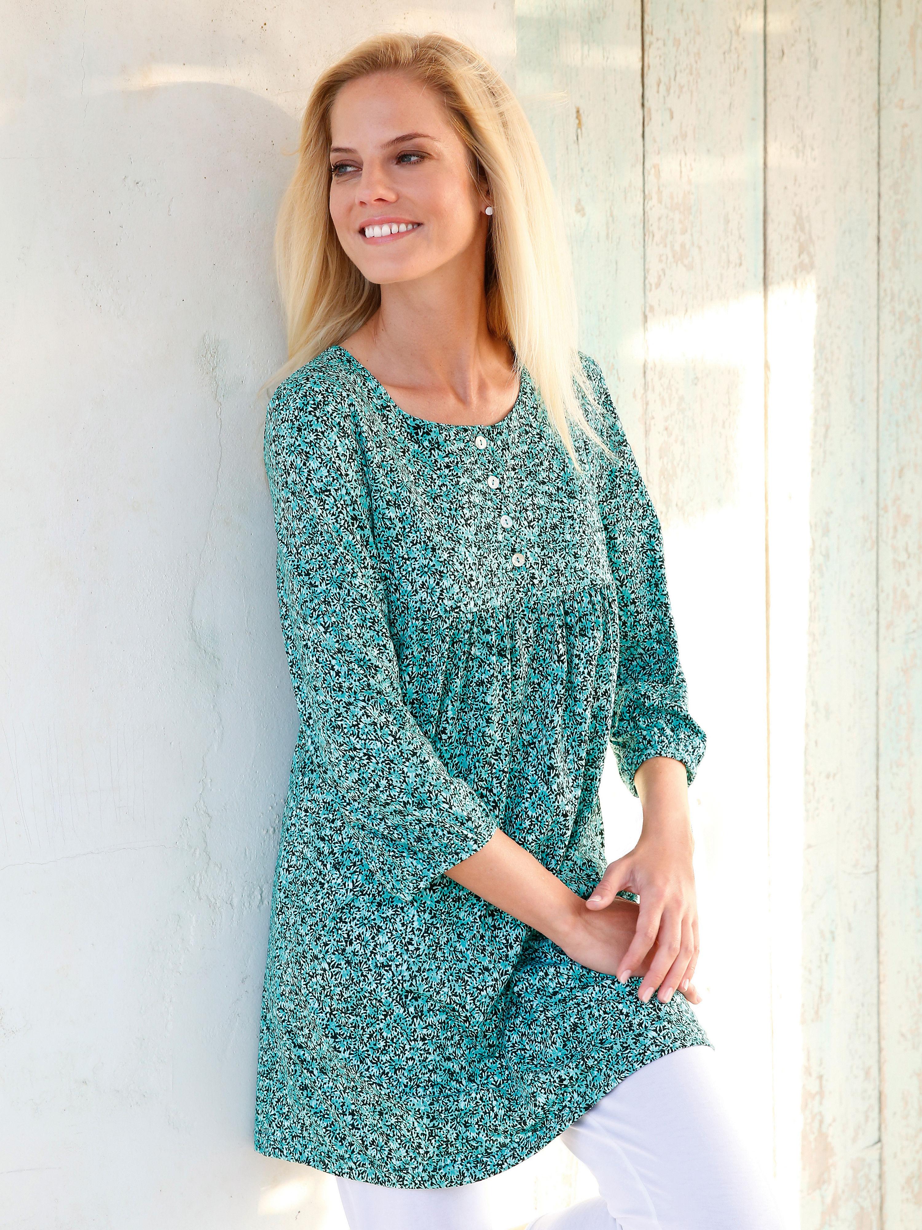 La tunique en jersey de Green Cotton vert taille 54