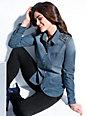 Emilia Lay - Le chemisier en jean