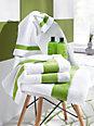 Feiler - La serviette invité en pur coton, env. 30x50cm