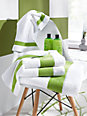 Feiler - Le carré de toilette en pur coton, env. 30x30cm