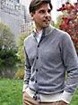 Peter Hahn Cashmere - Le gilet en maille en pur cachemire