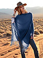the lovely brand - Le poncho en pur cachemire