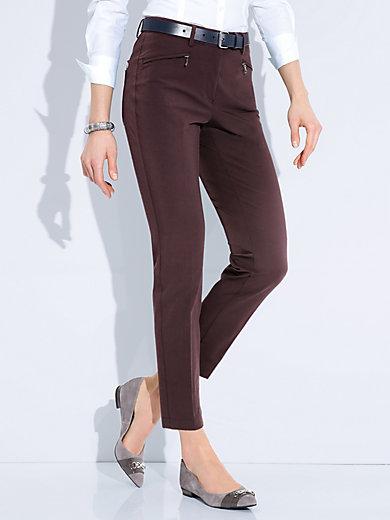 Atelier Gardeur - Le pantalon longueur chevilles. Modèle DINA 2 SLIM