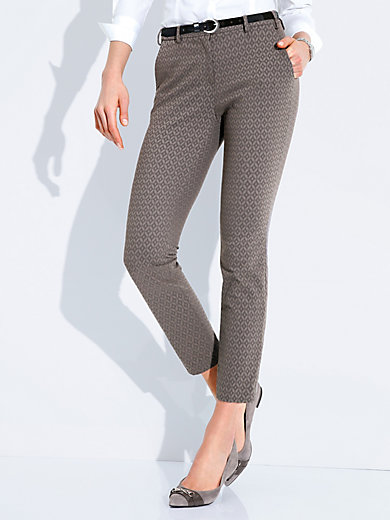 Brax Feel Good - Le pantalon 7/8 « Modern Fit » - Modèle MARON