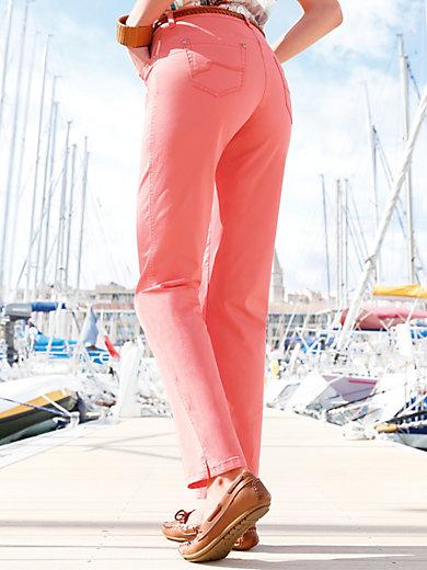 Brax Feel Good - Le pantalon cuisses larges et taille haute