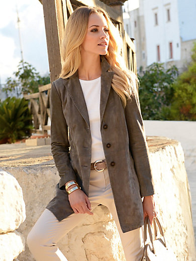 CHRIST Leather - Le manteau en cuir
