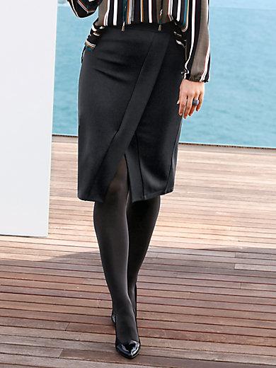 Emilia Lay - La jupe en jersey à effet croisé