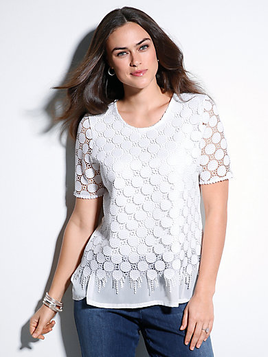 Emilia Lay - Le T-shirt ras-de-cou et manches courtes