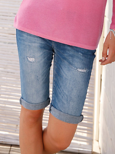 FLUFFY EARS - Le short en jean