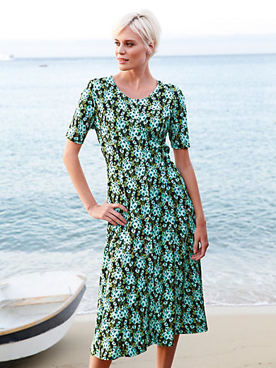 Green Cotton - La robe en jersey