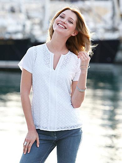 Just White - Le T-shirt-chemisier