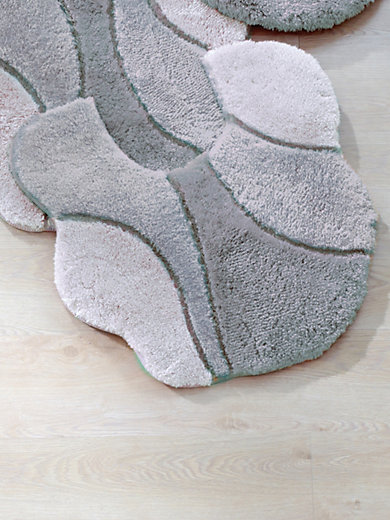 Kleine Wolke - Le contour WC posé, 60x60cm