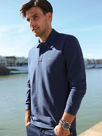 Lacoste - Le polo en pur coton, manches longues
