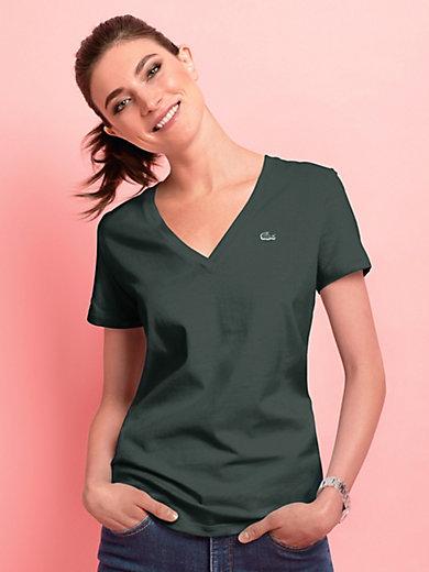 Lacoste - Le T-shirt en V manches courtes