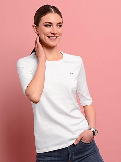 Lacoste - Le T-shirt encolure ras-de-cou manches aux coudes
